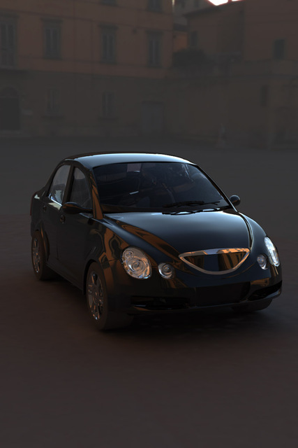 QQ A6自動車