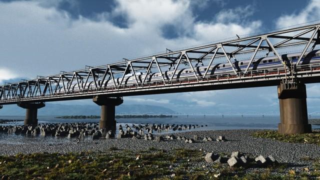 新幹線 富士川橋梁