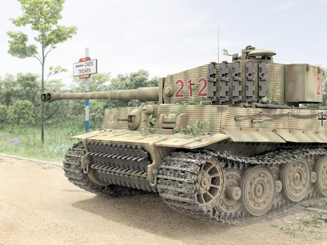 13.June 1944 Villers-Bocage