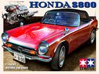 HONDA S800のプラモのボックスアート風