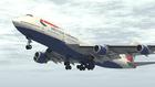 B747離陸