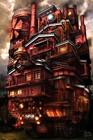 天空の紅の動く城