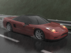 NISSAN NSX「It is a rainy day」