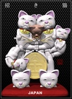金メダルの招き猫