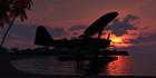 南洋の夕景