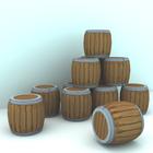 大域照明な樽