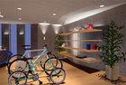 バイクショップでR壁と基本形状の習作